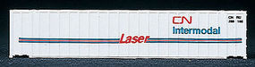 Walthers-Acc 48' Ribside Container CN N Scale Model Train Freight Car Load #8841