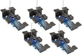 Walthers-Elec Walthers Layout Control System Horizontal Mount Switch Machine 5-Pack -