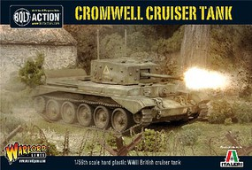 Warload-Games 28mm Bolt Action- WWII Cromwell Mk IV British Cruiser Tank (Plastic)