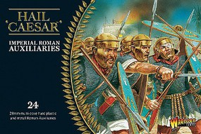 Warload-Games Imperial Roman Auxiliaries (24) Plastic Model Figure Kit 1/56 Scale #ir05