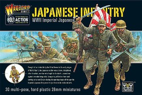 Warload-Games 28mm Bolt Action- WWII Imperial Japanese Infantry (30) (Plastic)