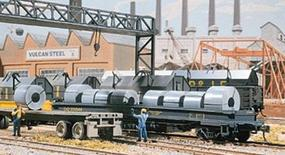 Walthers Freight Car/Truck Loads - Kit - Steel Coils (12) HO Scale Model Train Freight #1499