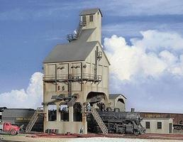 Walthers Modern Coaling Tower - Kit HO Scale Model Railroad Building #2903