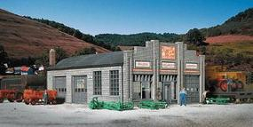 Walthers State Line Farm Supply - Kit - 7-1/4 x 5-3/8 x 3 HO Scale Model Railroad Building #2912