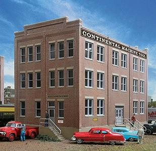 Walthers Engineering Office - Kit - 10-1/8 x 5-3/4 x 6-3/16 HO Scale Model Railroad Building #2967
