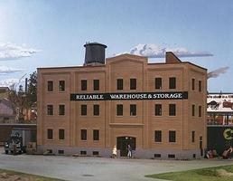Walthers Reliable Warehouse & Storage - Kit HO Scale Model Railroad Building #3014