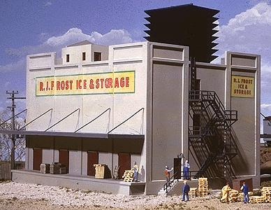Walthers Cornerstone HO Scale Building//Structure Kit Reliable Warehouse Storage
