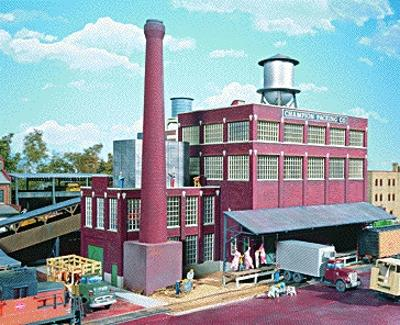 Walthers Champion Packing Plant - Kit HO Scale Model Railroad Building #3048