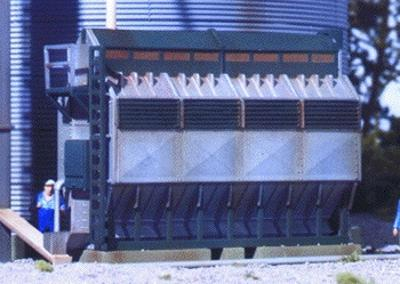 Walthers Grain Dryer - Kit HO Scale Model Railroad Building Accessory #3128