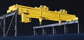 Walthers Heavy-Duty Overhead Crane - Kit - 11 x 2-3/8 x 2-5/16 HO Scale Model Railroad Building #3150
