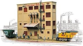 Walthers Centennial Mills Background Building - Kit HO Scale Model Railroad Building #3160
