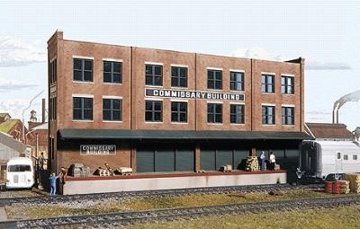 Walthers Commissary/Freight Bldg - HO-Scale