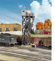 Walthers Cinder Conveyor & Ash Pit - Kit HO Scale Model Railroad Building #3181