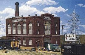 Walthers Northern Light & Power Powerhouse - Kit N Scale Model Railroad Building #3214
