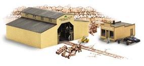 Walthers Walton & Sons Lumber - Kit N Scale Model Railroad Building #3235