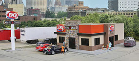 Walthers DQ Grill & Chill HO Scale Model Railroad Building #3485