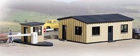 Walthers Office & Guard Shack - Kit HO Scale Model Railroad Building #3517