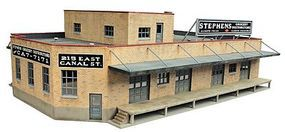 Walthers Grocery Distributor - Kit - 12-13/16 x 9 HO Scale Model Railroad Building #3760