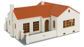 Walthers Mission-Style Bungalow Kit HO Scale Model Railroad Building #3785