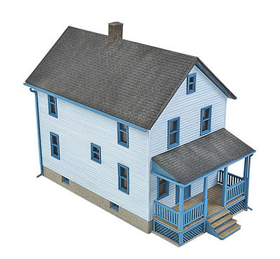 2 story frame house kit ho scale model railroad building for 2 story home kits