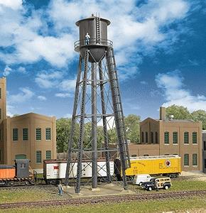 Walthers City Water Tower - Kit - 2-3/8 x 2-3/8 x 7 N Scale Model Railroad Building Accessory #3815