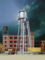 Walthers Vintage Water Tower - Assembled - 2-3/8 x 2-3/8 x 7 N Scale Model Railroad Building #3833