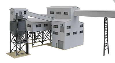Walthers Diamond Coal Corporation - Kit N Scale Model Railroad Building #3836