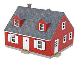 Walthers Cape Cod House Kit N Scale Model Railroad Building #3839