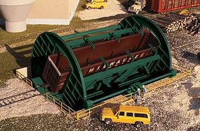 Walthers Rotary Dumper - Superior Paper - Kit HO Scale Model Railroad Building #3903