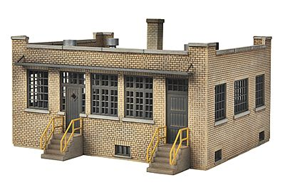 Walthers Industry Office - Kit - 4-3/4 x 6-1/4 x 2-3/4'' -- HO Scale Model Railroad Building -- #4020