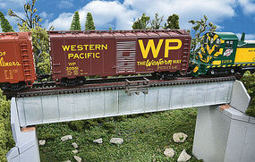 Walthers 70 Single Track Deck Girder Railroad Bridge Kit HO Scale Model Railroad Bridge #4507