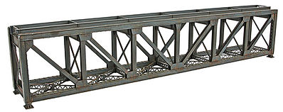 Walthers 109 Single-Track Pratt Deck Truss Railroad Bridge Kit HO Scale Model Railroad Bridge #4520