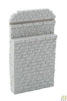 Walthers Single-Track Railroad Bridge Stone Abutment - Resin Casting Approximate dimensions- 3-1/4 x 5/8 x 5-3/4 8.2 x 1.5 x 14.6cm