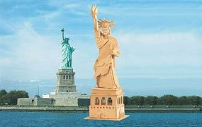 Wood-3D The Statue of Liberty (15 Tall) Wooden 3D Jigsaw Puzzle #1406