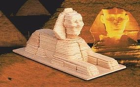 Wood-3D The Sphinx (9 Long) Wooden 3D Jigsaw Puzzle #1411