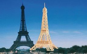 Wood-3D Eiffel Tower (15 Tall) Wooden 3D Jigsaw Puzzle #1418