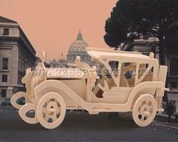Wood-3D Sunbeam Car (11 Long) Wooden 3D Jigsaw Puzzle #p17