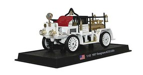 William-Tell Seagrave AC53 Fire Truck Assembled Los Angeles, California, 1907 (white) 1/43 Scale