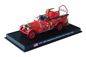 William-Tell American LaFrance Pumper Assembled Milwaukee, Wisconsin, 1921 (red) 1/72 Scale