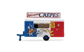 William-Tell Food Trailer Crepes N-Scale