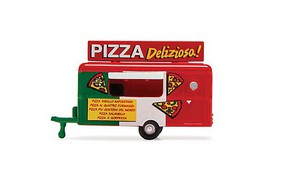 William-Tell Food Trailer Pizza Del N-Scale