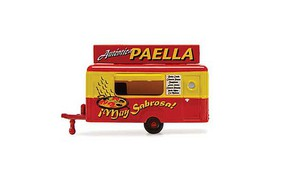 William-Tell Food Trailer Auth Paella N-Scale