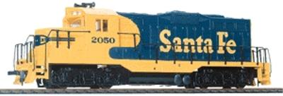 Walthers-Trainline EMD GP9M Santa Fe Blue & Yellow Model Train Diesel Locomotive HO Scale #103