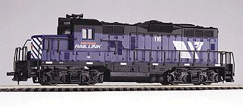 Walthers Trainline Trainline(R) Diesel GP9M Powered -  Ready to Run -- Montana Rail Link