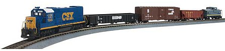Walthers-Trainline Flyer Express Trainset - Standard DC CSX