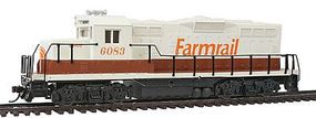 Walthers-Trainline EMD GP9M Farmrail #6083 Model Train Diesel Locomotive HO Scale #136