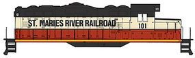 Walthers-Trainline EMD GP9M St. Maries River Railroad #101 Model Train Diesel Locomotive HO Scale #138