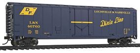 Walthers-Trainline Boxcar Louisville & Nashville Dixie Line Model Train Freight Car HO Scale #1402