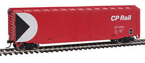 Walthers-Trainline Boxcar Ready to Run Canadian Pacific HO Scale Model Train Freight Car #1404