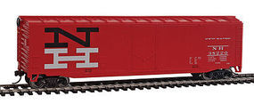 Walthers-Trainline Boxcar Ready to Run New Haven HO Scale Model Train Freight Car #1406
